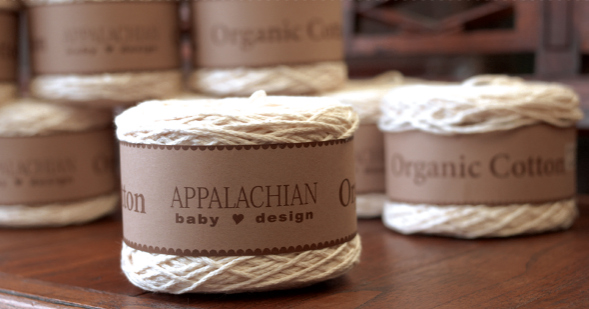 Appalachian Baby Design Organic Cotton Chunky Yarn