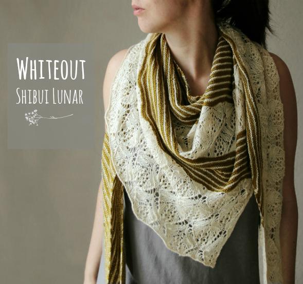 Whiteout Shawl