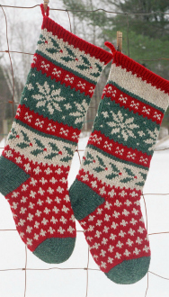 Annie's Woolens Stocking Kits