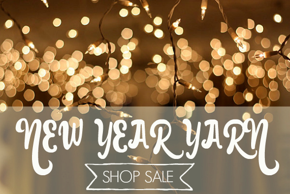 New Year Yarn Sale