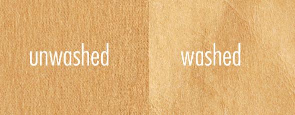 Unwashed/Washed