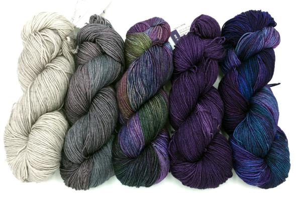 Malabrigo Sock Purples