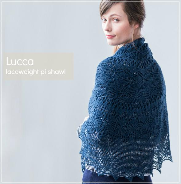 Brooklyn Tweed Lucca Shawl