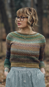 Andrea Mowry Shifty Sweater