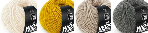 WoolAddicts Air Yarn
