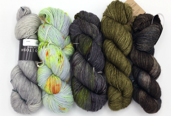 Madelinetosh Tosh Merino Light Grey Greens