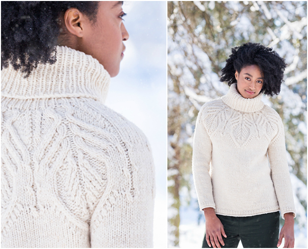 Tundra Cabled Turtleneck