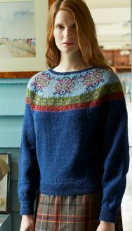 Wren Fair Isle Pullover Sweater Kit