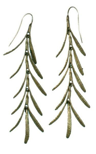 Michael Michaud Rosemary Long Earrings