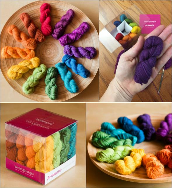 Prismatic Mini-Mini Yarn Set