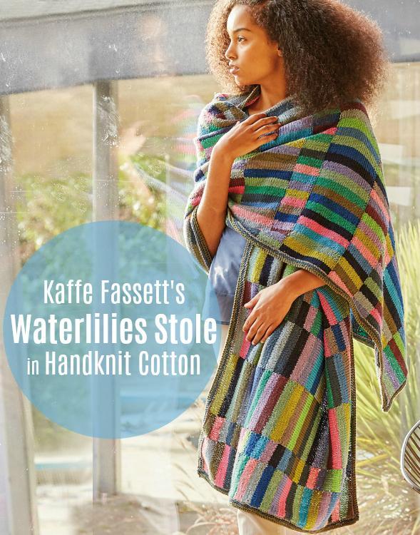 Rowan Selects Waterlillies Stole
