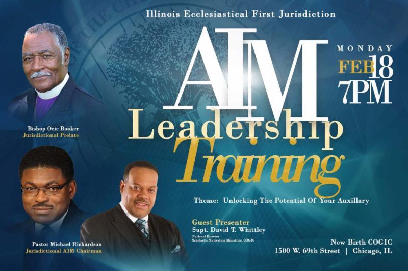 AIM Leadership Training - TONIGHT - February 18 - 7:00 PM