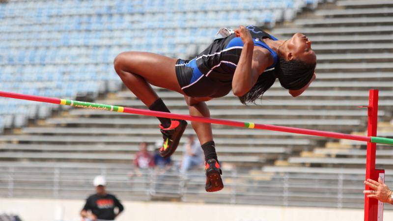 Byron Nelson_s Sanaa Barnes will compete in the 6A high jump.