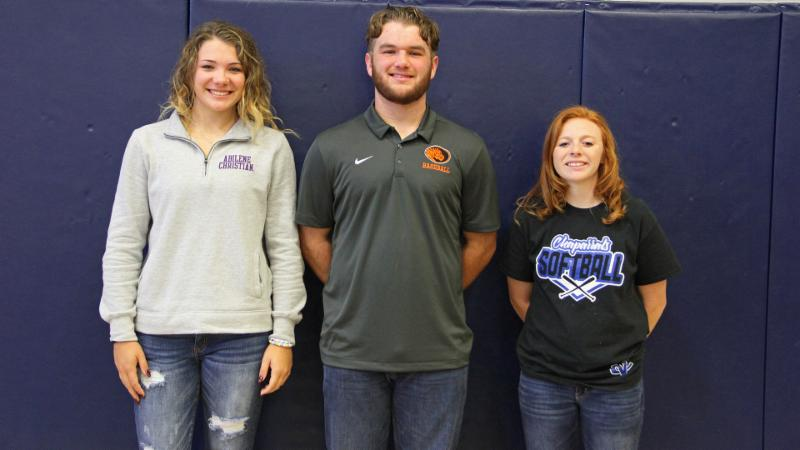 November 2018 Eaton Student-Athlete Signees
