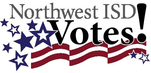 Northwest ISD Votes logo