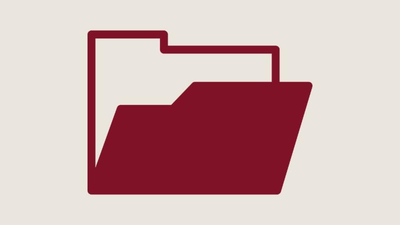 An icon of a folder