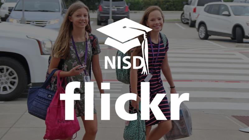 Northwest ISD and Flickr logos