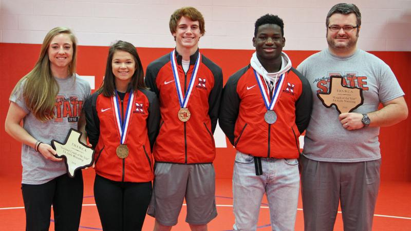 Northwest Wrestling State Medalists _not pictured_ Andrena Carter_