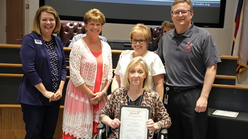 Trustees recognize Cheryl Kacvinsky, GEM Award winner