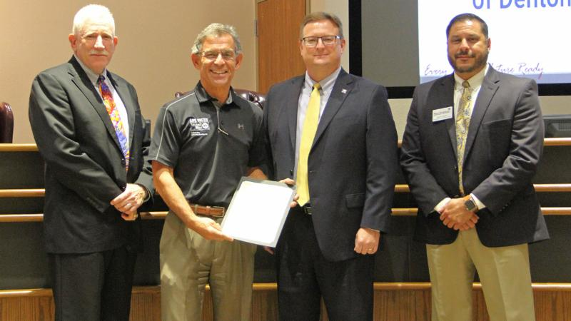 Partners in Education recognized United Way of Denton County for its work helping district students.