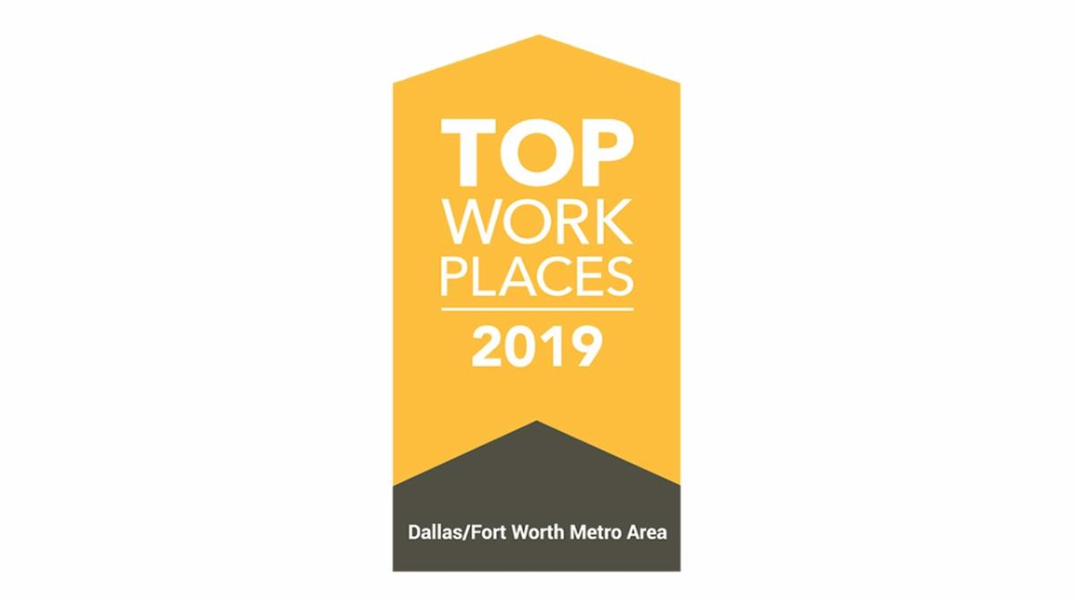 Dallas Morning News Top Workplaces logo