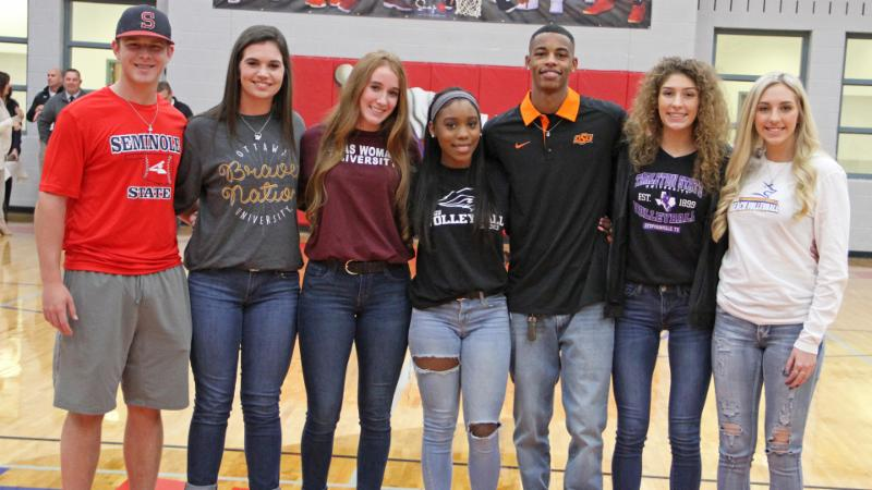 November 2018 Northwest Student-Athlete Signees