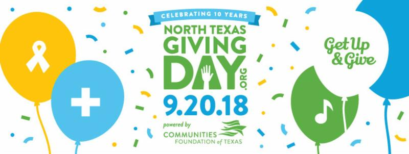 North Texas Giving Day 2018 logo