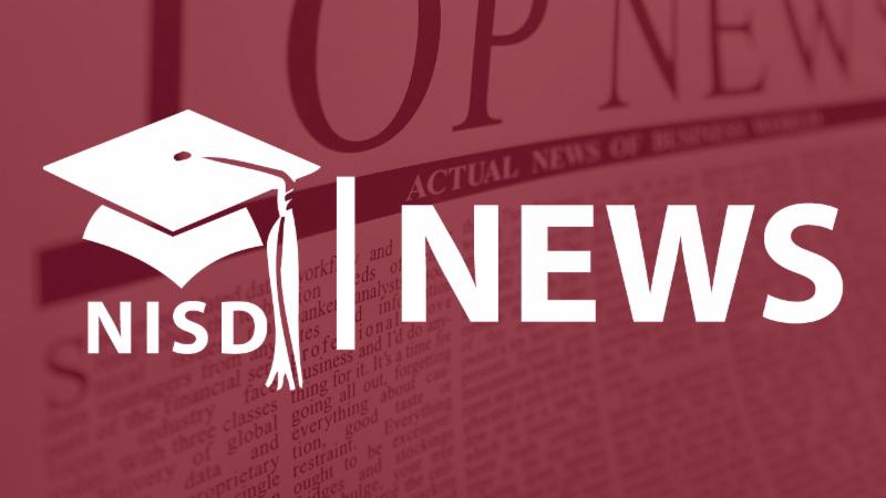 An NISD News logo