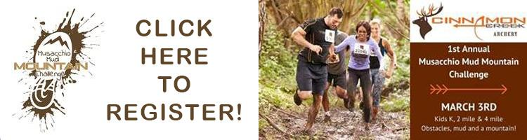 Click here to view registration information for an upcoming mud run