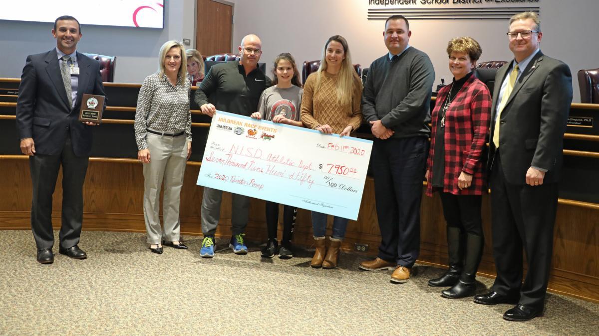 Trustees recognize Reindeer Romp sponsors