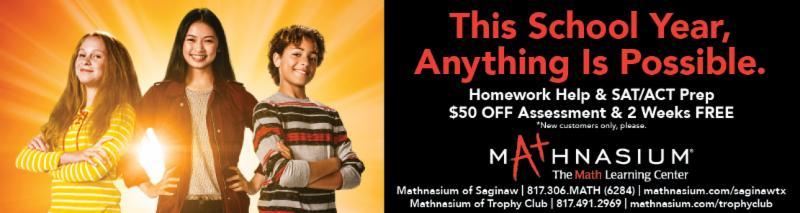 An advertisement for Mathnasium