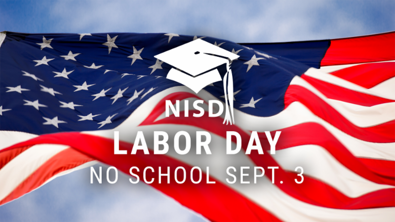 An image saying Labor Day is Sept. 3