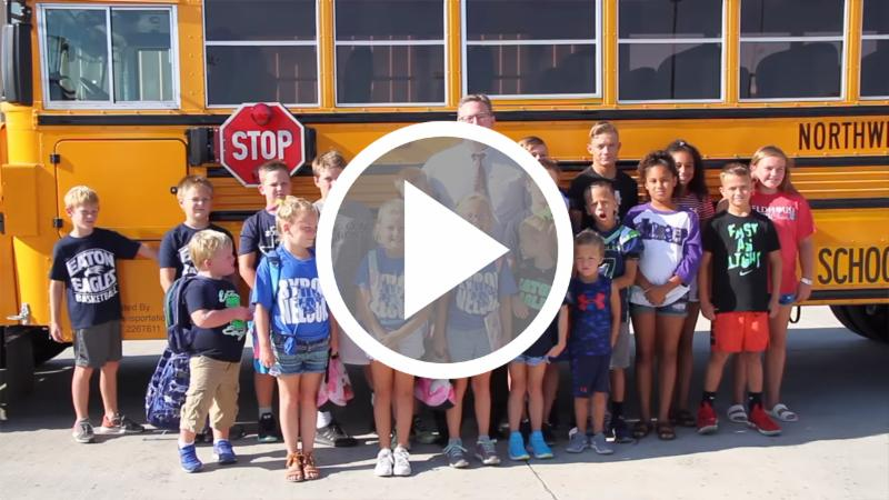 Click this image to see a video of our new buses