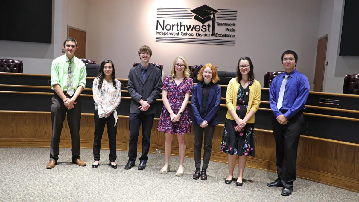 Northwest ISD's 2019 National Merit Semifinalists