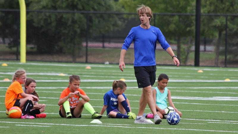 Byron Nelson_s girls soccer camp takes place on Monday_ June 18