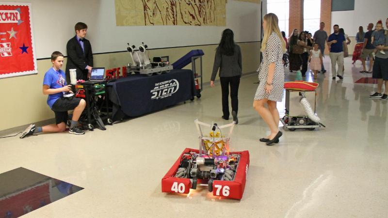 Robots at the 2017 Techno Expo