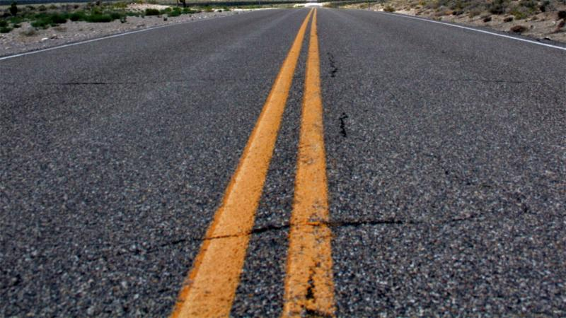 A photo of a roadway