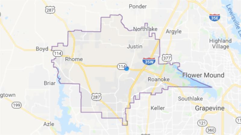 A Google Map of Northwest ISD
