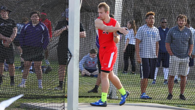 Northwest_s Caden McDonald will compete at state in the 5A discus.
