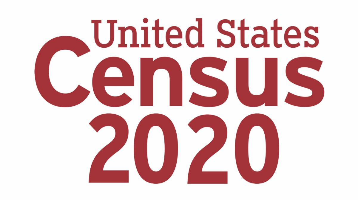 The logo of the United States Census 2020