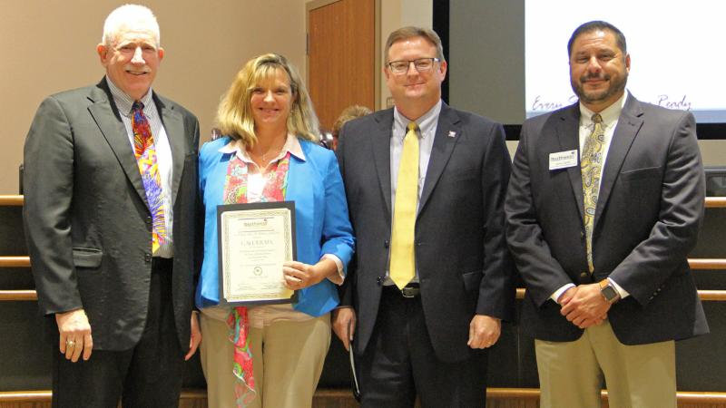 Partners in Education recognized Galderma for its work helping district students.
