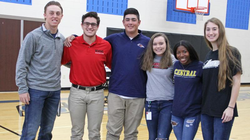 November 2018 Byron Nelson Student-Athlete Signees