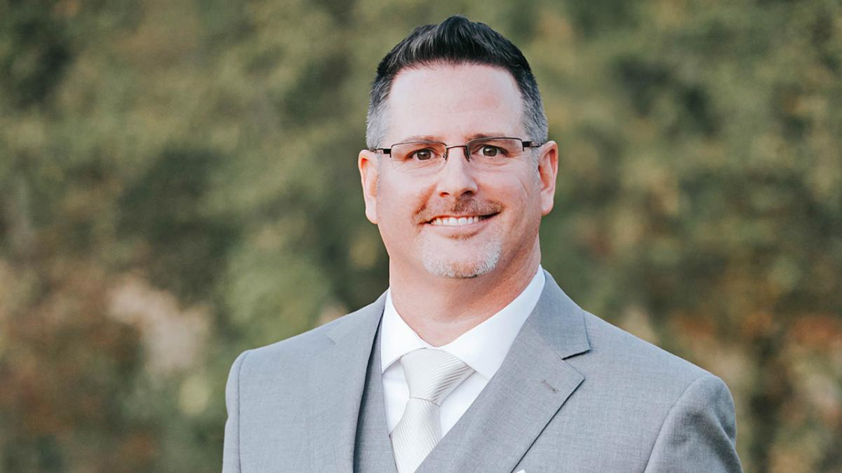 A headshot of new Chisholm Trail principal Anthony Fontana
