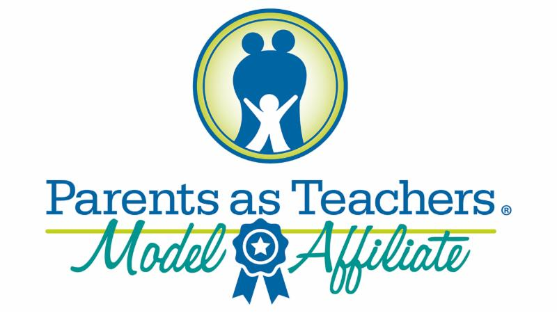 The logo for Parents as Teacher's Model Affiliate distinction