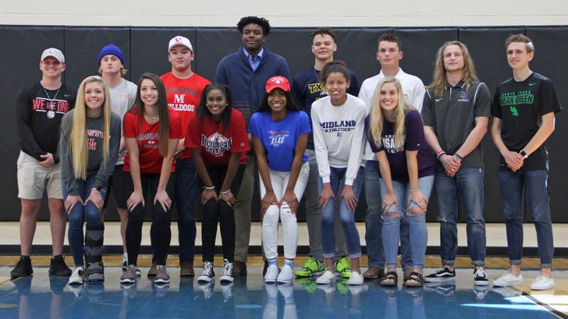 Byron Nelson_s April 2018 Signing Day Class