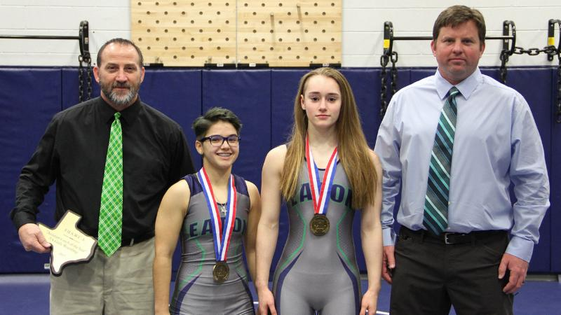 Eaton state wrestling medalists