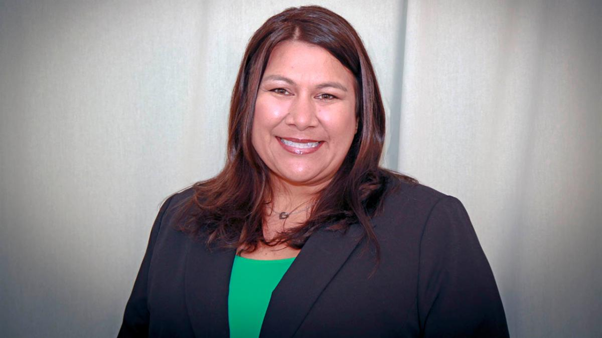 A headshot of new Eaton principal Stacy Miles