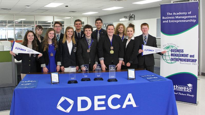 Qualifiers for the international DECA conference and competition
