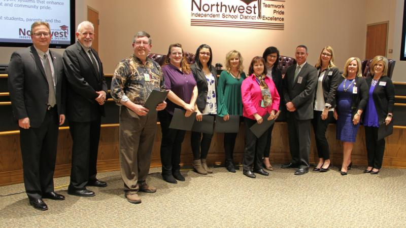 Trustees recognized guest educators for their work with students across the district.