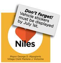 Vehicle Stickers 2021